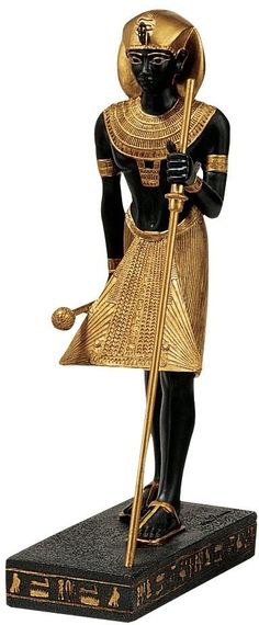 Features:  -Hand painted.  -Design Toscano exclusive.  Product Type: -Figurine.  Style: -Asian Inspired.  Theme: -Historic.  Subject: -Prehistoric & Mythical.  Finish: -Gold; Black.  Primary Material: