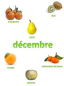 Fruits de décembre