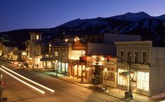 Nightlife in downtown Breckenridge, CO