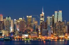 New York City skyline viewed from Weehawken, New Jersey   | Photographer: Sean Pavone #123RF