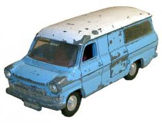 #diecast #Dinky 407 Ford Transit new or updated at www.diecastplus.info