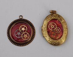 Simple steampunk jewelry tutorial