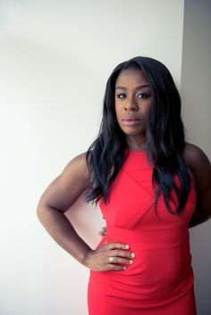 """I love the Clarisonic, I love at the end of the day, taking off makeup."" http://www.thecoveteur.com/uzo-aduba-interview/"