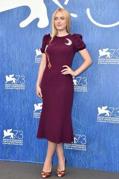 Dakota Fanning in Dolce & Gabbana