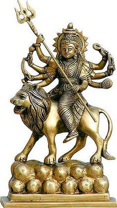 Sculpture of the Divine-Mother Durga