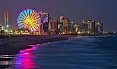 Myrtle Beach, South Carolina-- My parents honeymooned there