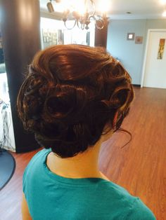 #promstyle #fun #Getit #lovehair @R&GSalonandSpa #hairdesign by #Roula!!!