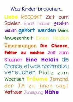Was Kinder brauchen Was Kinder brauchen Kinder Eltern Schule Legasthenie Dyskalkulie Lehrer: The post Was Kinder brauchen appeared first on Kinder ideen. Kindergarten Portfolio, Kindergarten Lesson Plans, School Motivation, Elementary Education, Kids And Parenting, Parenting Tips, About Me Blog, Teaching, How To Plan