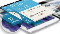 15 Free Perspective Screen Mockups To Showcase Your App Design - Designbeep