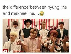 hyung line vs maknae line| the hyung line is soo done with maknaes ...