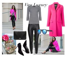 """""""Viva Luxury"""" by aniri310 on Polyvore featuring H&M, GUESS, MSGM and Illesteva"""