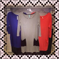 Tunics in from market