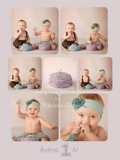 Cake Smasher twins - boy and girl