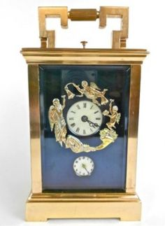 French Grande Sonnerie Carriage Clock