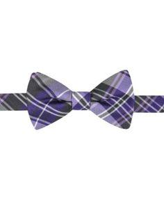 Countess Mara Men's Duane Plaid Pre-Tied Bow Tie   macys.com