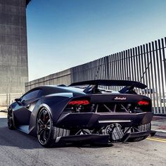 Nothing like the back-end of a Lambo