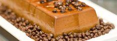 Flan de chocolate puro y almendras
