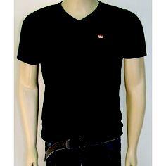 Camiseta Preta - Basics - Gola V - Chassi & Co.