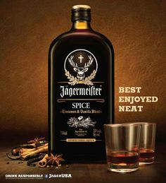 Jagermeister spice! Had this for an after turkey drink....I love it!!!!!!!!!