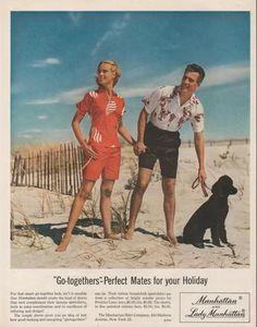 1956 vintage poodle ad