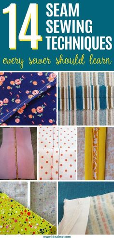 Luckily, there are very helpful tutorials, tips, and tricks to mastering sewing seams. The 14 we've gathered here will surely help you master sewing seams of various types and for different uses.