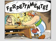 Asterix E Obelix, Bilal, Morris, My Childhood, Comic Art, Cartoons, Marvel, Superhero, Illustration