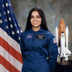 Remembering Kalpana Chawla the first Indian woman in space on her birth anniversary. A woman who gave wings to her dreams, a symbol of courage and strength. A true inspiration to millions across the globe. Astronauts In Space, Nasa Astronauts, Indian Astronauts, Space Shuttle Enterprise, Space Shuttle Challenger, Challenger Space, Jet Fighter Pilot, Space And Astronomy, Nasa Space