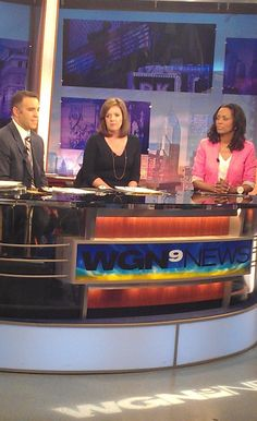 Aisha Tyler on WGN news this morning chatting about her performance at Horseshoe Chicago tomorrow!