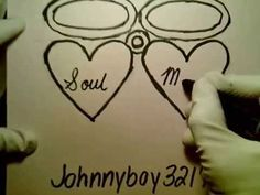 boyfriend easy drawing draw heart word drawings hearts beginners mate doodle soul paintingvalley