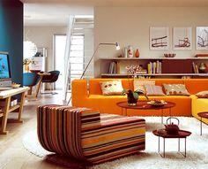 Paleta de cores vibrante e animadinha, essa da sala, né? #achadosdedecoração