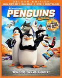 The Penguins of Madagascar [Includes Digital Copy] [3D] [Blu-ray/DVD] [Blu-ray/Blu-ray 3D/DVD] [2014]