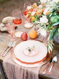 Summery wedding ideas in a Californian Olive Grove via Magnolia Rouge