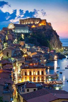Sicily, Italy, Beautiful landscapes surrounded by water...
