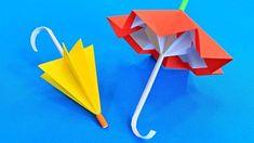 Оригами из бумаги Складной Зонт - YouTube