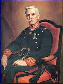 Retrato del General de división Bartolomé Salom (h.1900) Emilio Jacinto Mauri Ivern (Venezuela,1855-1908)