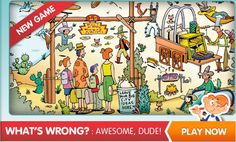Puzzlemania Kids - an interactive environment which complements the Highlights Puzzlemania Puzzle Books