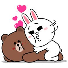 Brown & Cony's Supercharged Love – LINE stickers | LINE STORE