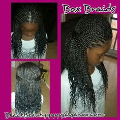 Astonishing Kids Box Braids With Curled Ends The Hairdo I Do Pinterest Short Hairstyles Gunalazisus