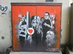 VITRY (Paris) vitrine du street art