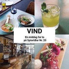 På vores Facebook har vi netop startet en konkurrence hvor du kan vinde 2 billetter til #dinnerdays på @spisebar.nr20 - vil du være med?  #restaurant #nørrebro #restaurantfestival #konkurrence #københavn #kbh #instagram