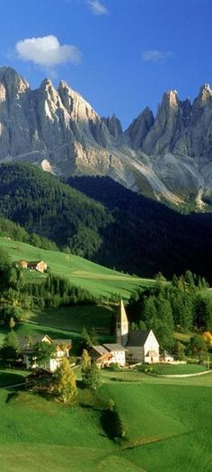 Val di Funes Valley, Tirol, Italy