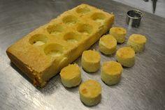 how to make push pop cakes....cake push pop step 4