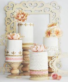 Wedding cake idea; Featured Cake: Hello Sunshine Cake Studio
