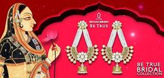 We bet, your impeccable royal look with 'Be True Bridal #Jewellery' will leave everyone dumbstruck!