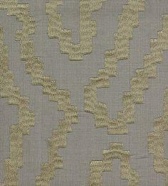 Interior Design Classic, Metallics | Zebra Fabric by Lelievre | Jane Clayton
