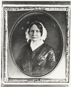 "Mary Lyon, the founder of Mount Holyoke Female Seminary.  She declared Emily Dickinson a ""lost soul."""