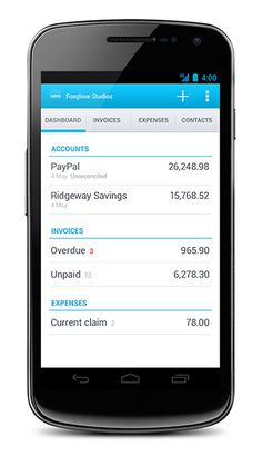 www.xero.com on Android - take your business's current financial information with you wherever you go! Load up your expenses for processing, approval and payment as soon as you have the receipt for that meal.