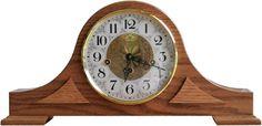 Wind-up Tambour Mantel Clock