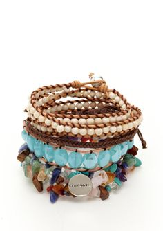 Love these bracelets! So fun for spring and summer!