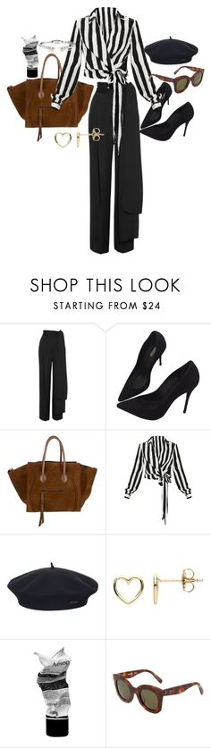 """""""Untitled #23158"""" by florencia95 ❤ liked on Polyvore featuring Lanvin, Schutz, Element, Estella Bartlett, Aesop, CÉLINE and Blue Nile"""